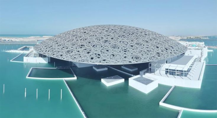 8 Years in 3 Minutes - Jean Nouvel's Louvre Abu Dhabi, which finally opened to the public on 11 November 2017, has been given the time-lapse treatment: a 3-minute film from EarthCam documenting the building's 8-year construction.