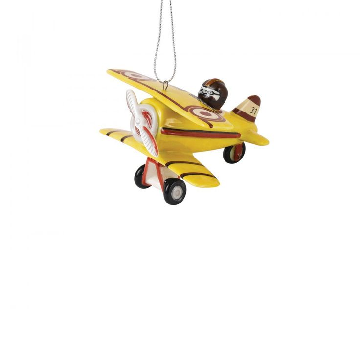 Nostalgic Christmas Decoration Aeroplane