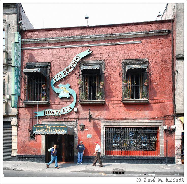 Hostería de Santo Domingo, Colonia Roma, Mexico City, Distrito Federal_ México