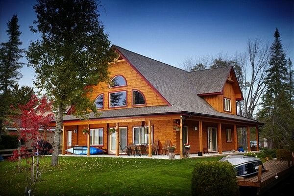 Colonial Concepts Log & Timberframe - Cottonwood model