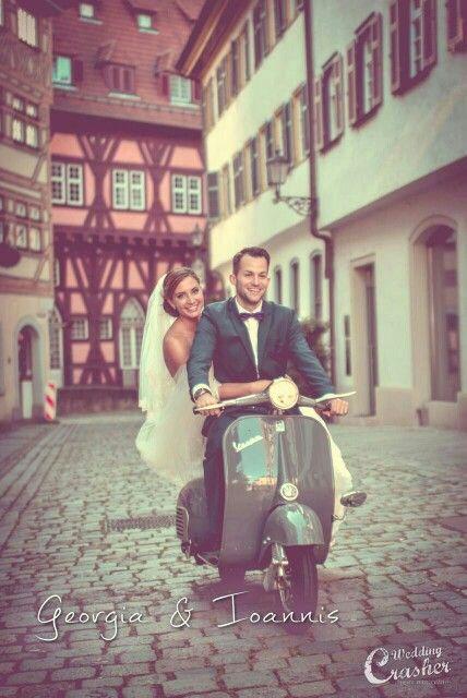 Vespa Wedding Shooting ♥ love it ♥