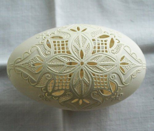 Best images about elegantly carved eggs on pinterest