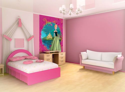 Anna frozen wall murals and home art on pinterest for Chambre 8x10