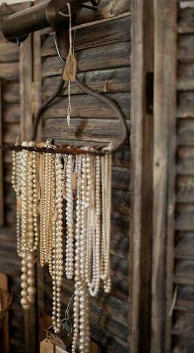 vintage rake head for necklace collection display @rubylanecom www.rubylane.com #antique #vintage