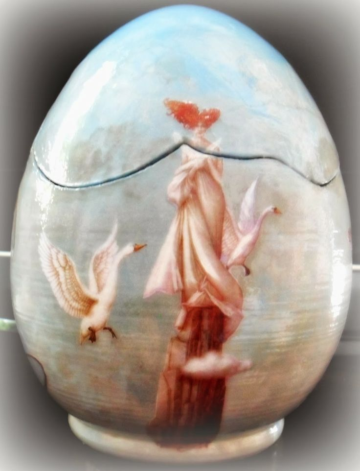 Decoration egg pottery