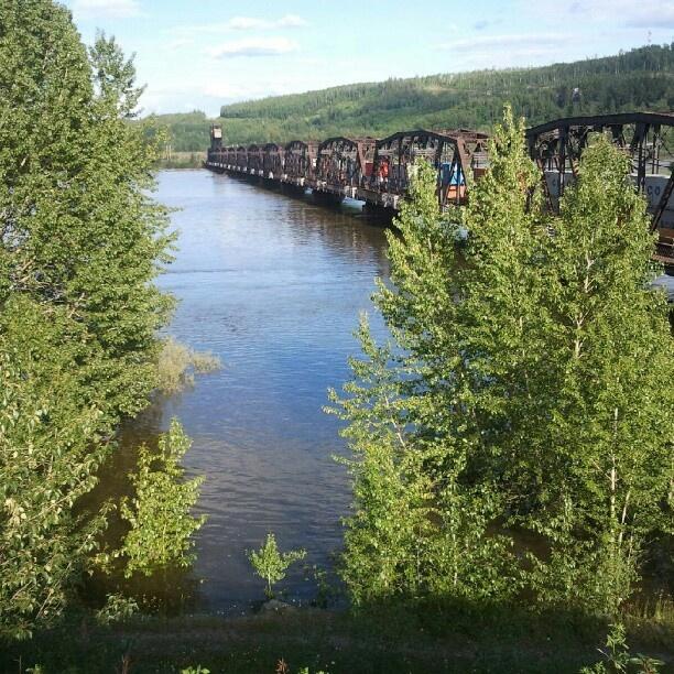 train bridge, prince george, bc