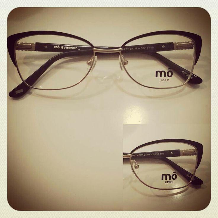 Montura metálica Mó eyewear Cat eye
