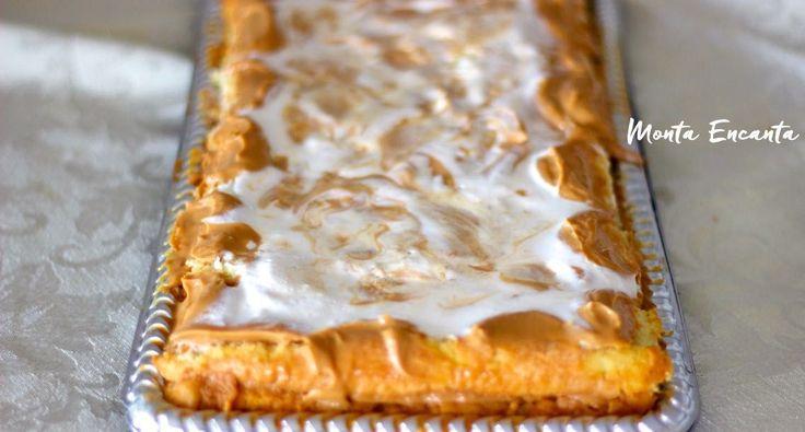 Torta de Doce de Leite, sucesso fácil de fazer! Torta de Doce de Leite deliciosa, em duas camadas finas e fofíssimas de bolo pão de ló. Umedecida por uma caldinha …