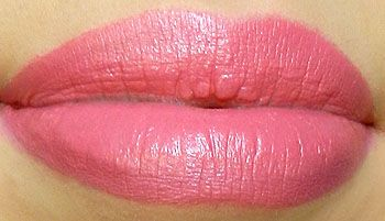 Not a big pink fan, but i would wear MAC Chatterbox Lipstick...