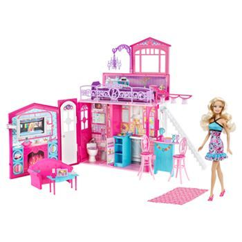 Barbie Glam House And Doll Set By Mattel #KohlsDreamToys