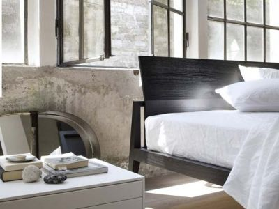 LEMA | Designed by Studio Kairos, Theo is in perfect Lema style, combining the richness of wood with sombre purity of shape in its sobre, elegant lines for a bedroom which never fails to surprise.