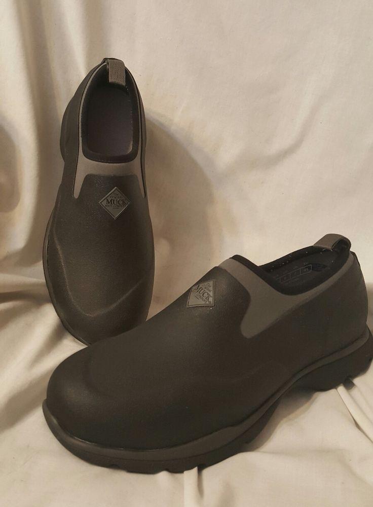 Muck boots Excursion Pro mens sz 8 outdoor shoe black waterproof xpress cool | Clothing, Shoes & Accessories, Men's Shoes, Boots | eBay!
