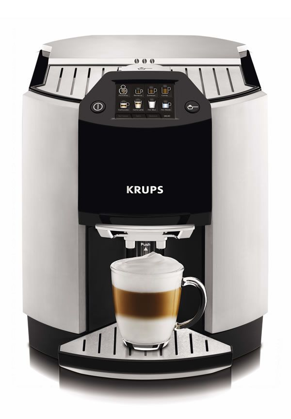 This top-of-the-line espresso machine will allow mom to feel like she has her own barista at home.