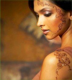 edgy makeup ideas | deepika padukone Henna Tattoo Designs: How to Apply Henna on Skin