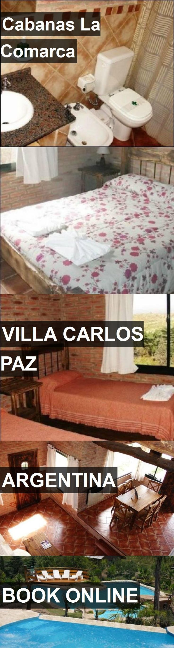 Hotel Cabanas La Comarca in Villa Carlos Paz, Argentina. For more information, photos, reviews and best prices please follow the link. #Argentina #VillaCarlosPaz #travel #vacation #hotel