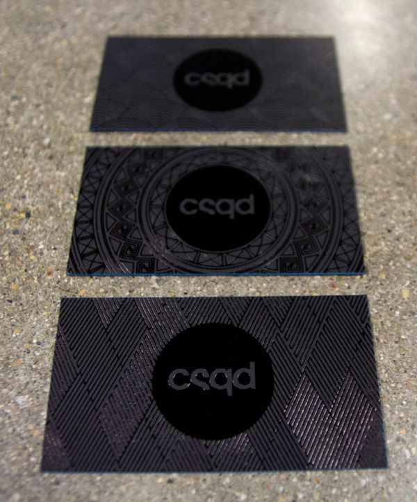 CSQD Business Cards on Behance