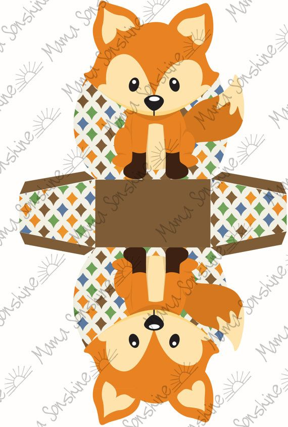 Delightful Little Fox Baby Shower Printables. By MamaSonshine On Etsy