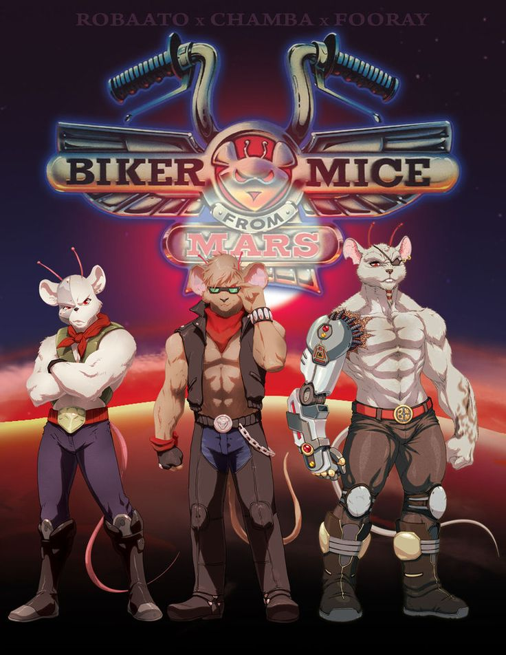 Biker Mice from Mars - Royce Southerland