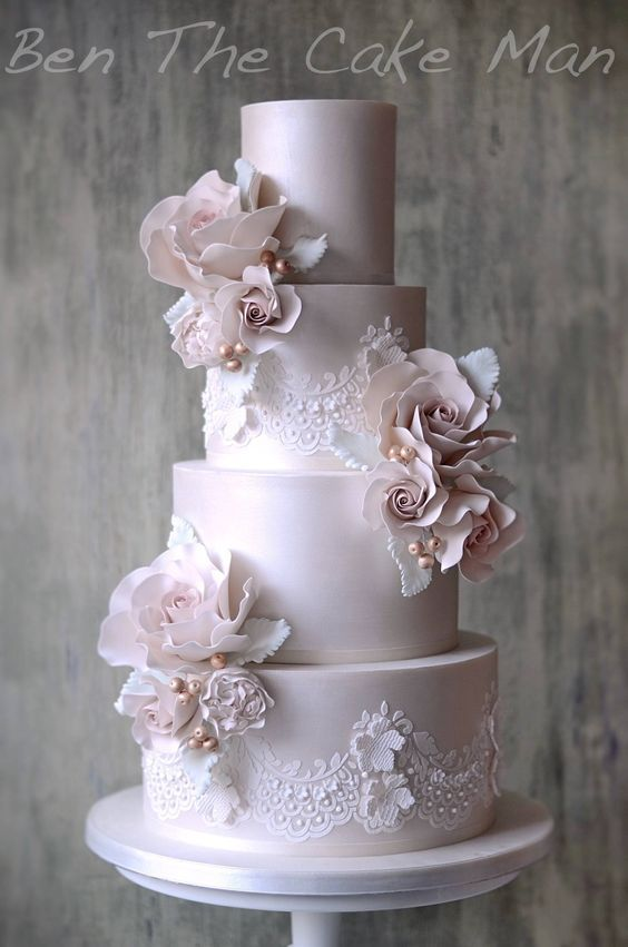 beautiful wedding cakes designs best 25 lace wedding cakes ideas on vintage 11223