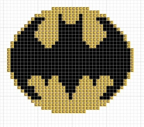 Logo-de-batman-en-punto-de-cruz.jpg (500×440)