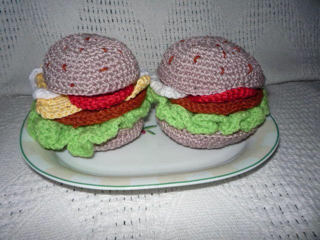 mé tvoření-hamburgery