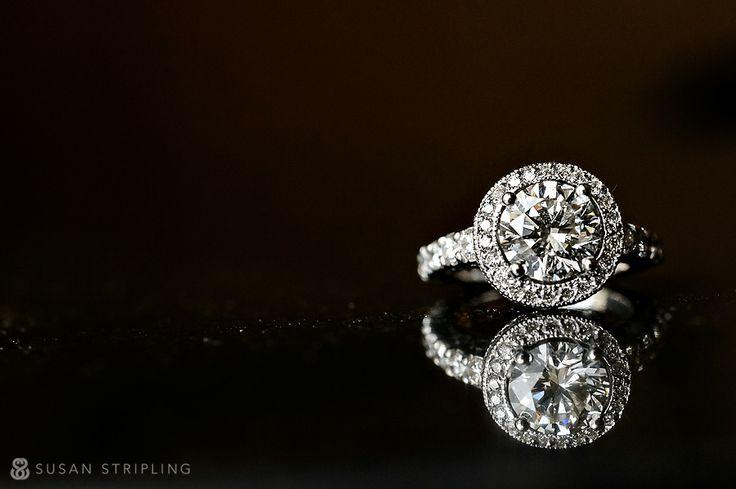 Impressive engagement ring - Susan Stripling photography
