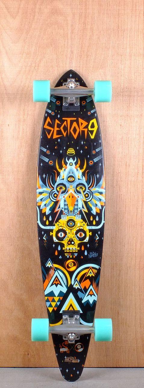 "Sector 9 40"" Cosmos Longboard Complete"