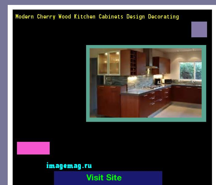 Modern Cherry Wood Kitchen Cabinets Design Decorating 160455 - The Best Image Search