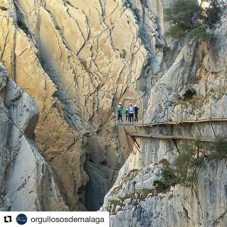 No puedes perderte este espectáculo natural. #adrenalinapura #malaga #turismodeaventura #senderismo #rutas #aventura #sport #adventure #nature #amigos #action #naturaleza Via @orgullososdemalaga