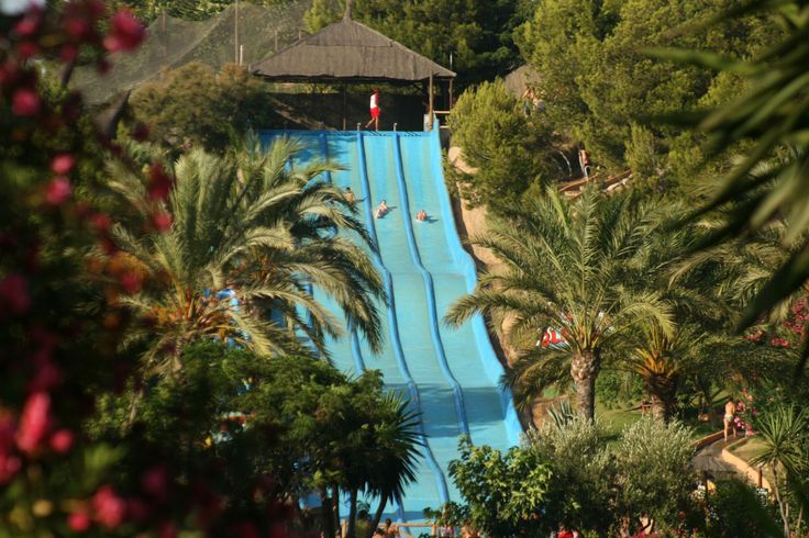 Aqualandia Water Park in Benidorm!