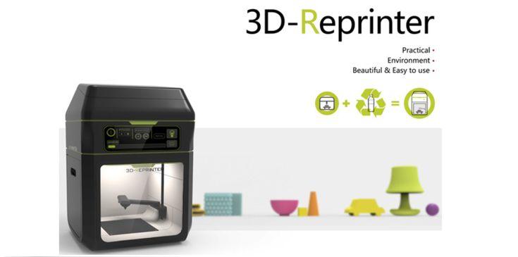 3D Re-Printer Concept – All-in-one Plastic Recycling 3D Printer http://3dprint.com/15103/3d-re-printer/