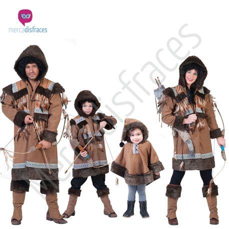 Disfraces para grupos Eskimo Nalu En mercadisfraces tu tienda de disfraces online, aquí podrás comprar tus disfraces para Carnaval o cualquier fiesta temática. Para mas info contacta con nosotros http://mercadisfraces.es/disfraces-para-grupos/?p=7