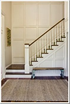 1000+ ideas about Wainscoting Stairs on Pinterest   Staircase ...