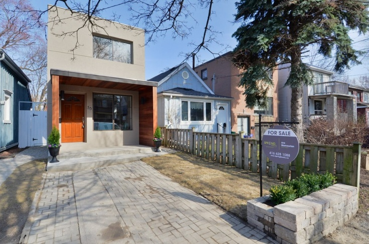 East Leslieville Rebuild like a condo but with Land! Re-pin for good Karma www.springrealty.ca $685,000