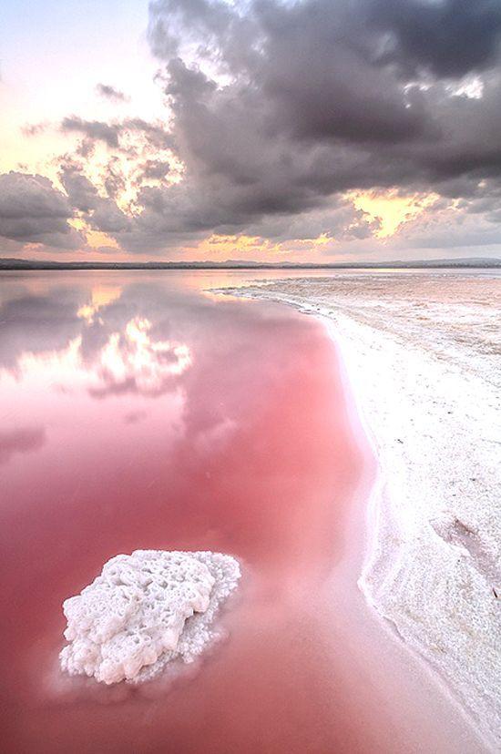 Pink Lake is a salt lake in the Goldfields-Esperance region of Western Australia