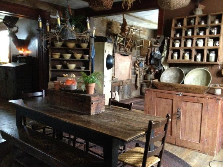 A Collection Of Rustic Antiques Rustic Antiques
