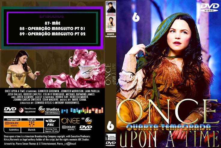 CAPAS EM SÉRIE: CAPAS DVD - SÉRIE - ONCE UPON A TIME