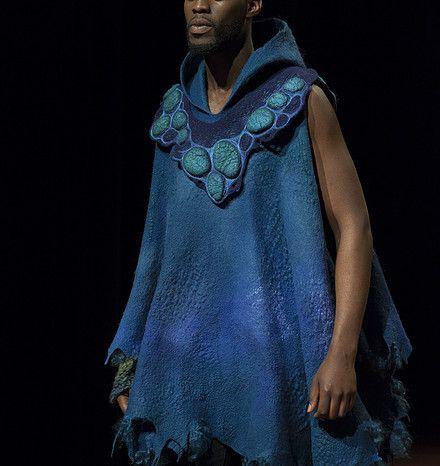 Feuer Und Wasser | Textile Art | Felting workshops | Katia Mokeyeva