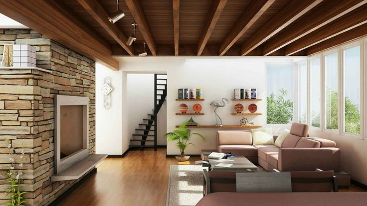 Interior : Brown Wooden Floor With Brown Wooden Ceiling Also Vase And Grey Fur Rug Besides Pink Sofa Rectangle Coffe Table Interior Design Style: Knowing The Differences Internal Industrial Fire Doors. Residential Interior Design Jobs Chicago. Vintage Industrial Interior Design Blog.