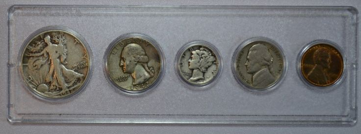 #New post #1942 Five Coin Year Set US Coins (Includes 3 SILVER coins)  http://i.ebayimg.com/images/g/g7MAAOSw4YdYyJ-v/s-l1600.jpg   1942 Five Coin Year Set US Coins (Includes 3 SILVER coins)  Price : 20.00  Ends on : 4 days  View on eBay  Post ID is empty in Rating Form ID 1 https://www.shopnet.one/1942-five-coin-year-set-us-coins-includes-3-silver-coins/