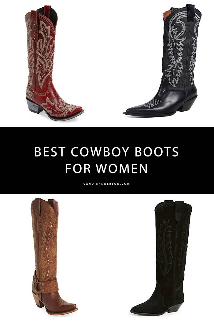 91bfa398bdef 15 Trendy Cowboy Boots For Women This Fall and Winter