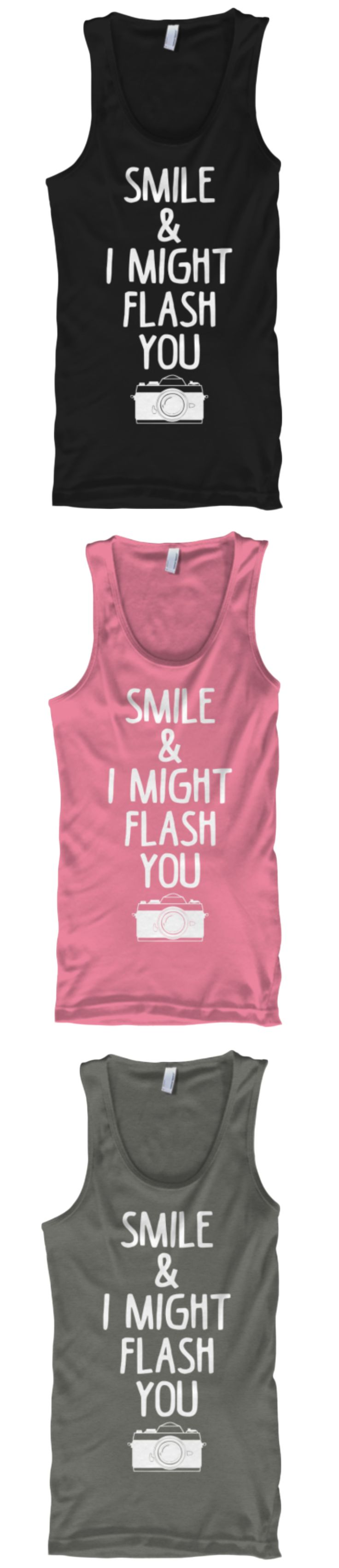 Smile & I Might Flash You | Limited Edition Tee | Click Image To Purchase