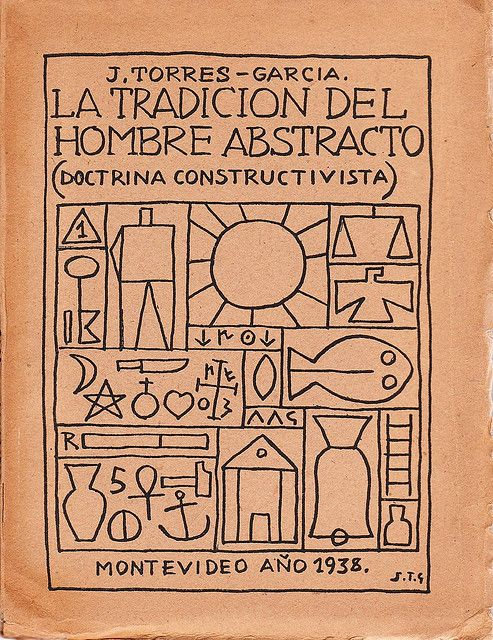 Joaquin Torres Garcia. Cubierta de libro