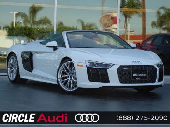 Convertible, 2017 Audi R8 V10 Spyder with 2 Door in Long Beach, CA (90815)