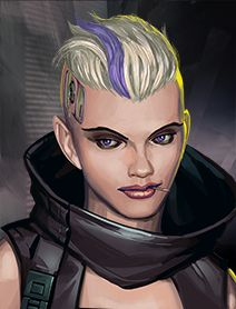 Female Human Shadowrunners Portraits from... - Run the Shadows