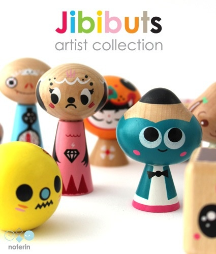 jibibuts artist collection - 2012
