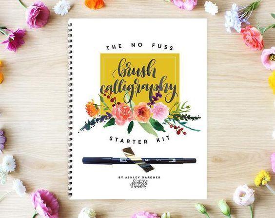 No Fuss Brush Calligraphy Kit