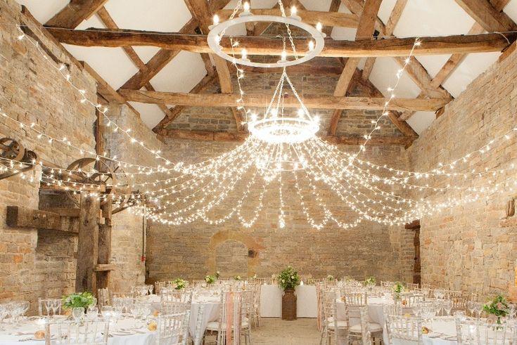 Fairy canopy for a wedding venue - stunning