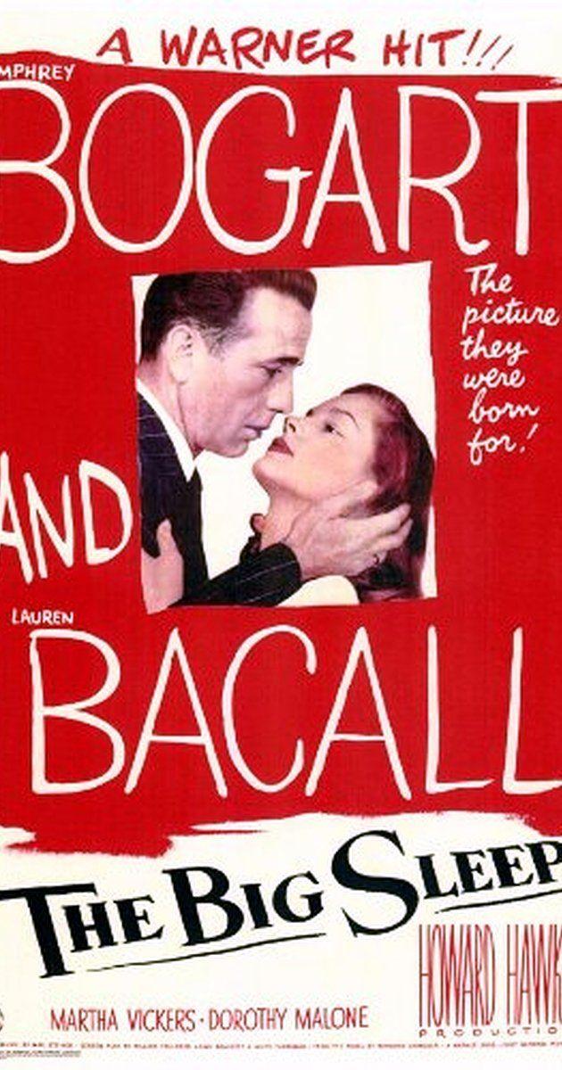 "The Big Sleep, Bogart se las lleva a todas de calle... ""- How do you like your brandy, sir? - In a glass."" 27/10/2015"