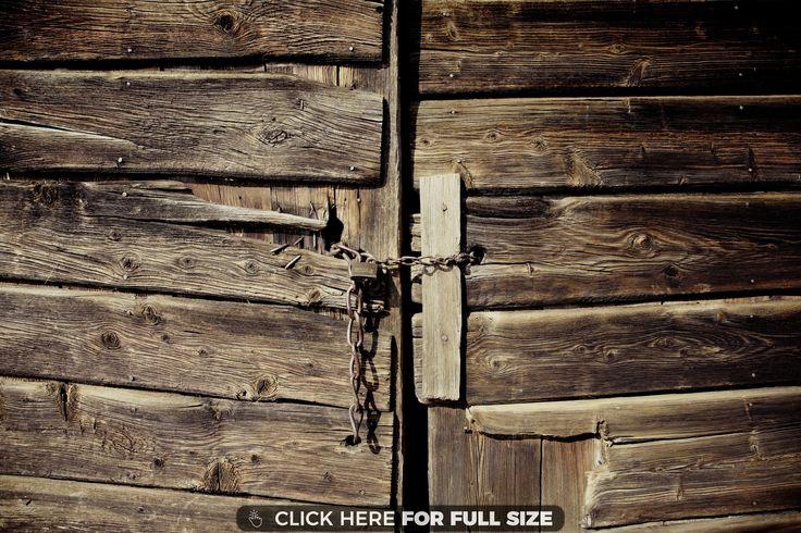 Brown Doors Wood